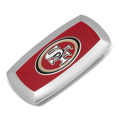 San Francisco 49er's Cushion Money Clip,MONEY CLIP,GentRow.com, | GentRow.com