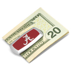 University of Alabama Crimson Tide Cushion Money Clip,MONEY CLIP,GentRow.com, | GentRow.com