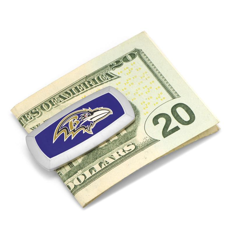 Baltimore Ravens Cushion Money Clip,MONEY CLIP,GentRow.com, | GentRow.com