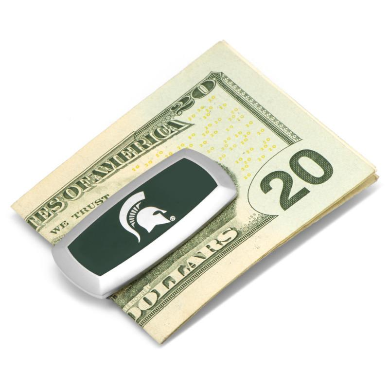 Michigan State Spartans Cushion Money Clip,MONEY CLIP,GentRow.com, | GentRow.com