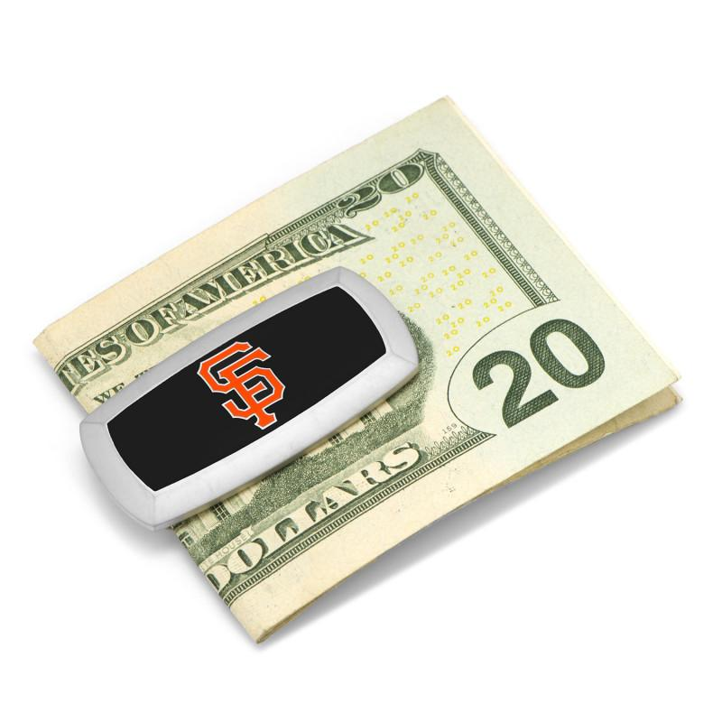 San Francisco Giants Cushion Money Clip,MONEY CLIP,GentRow.com, | GentRow.com
