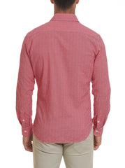 R COLLECTION CHECKS SPORT SHIRT