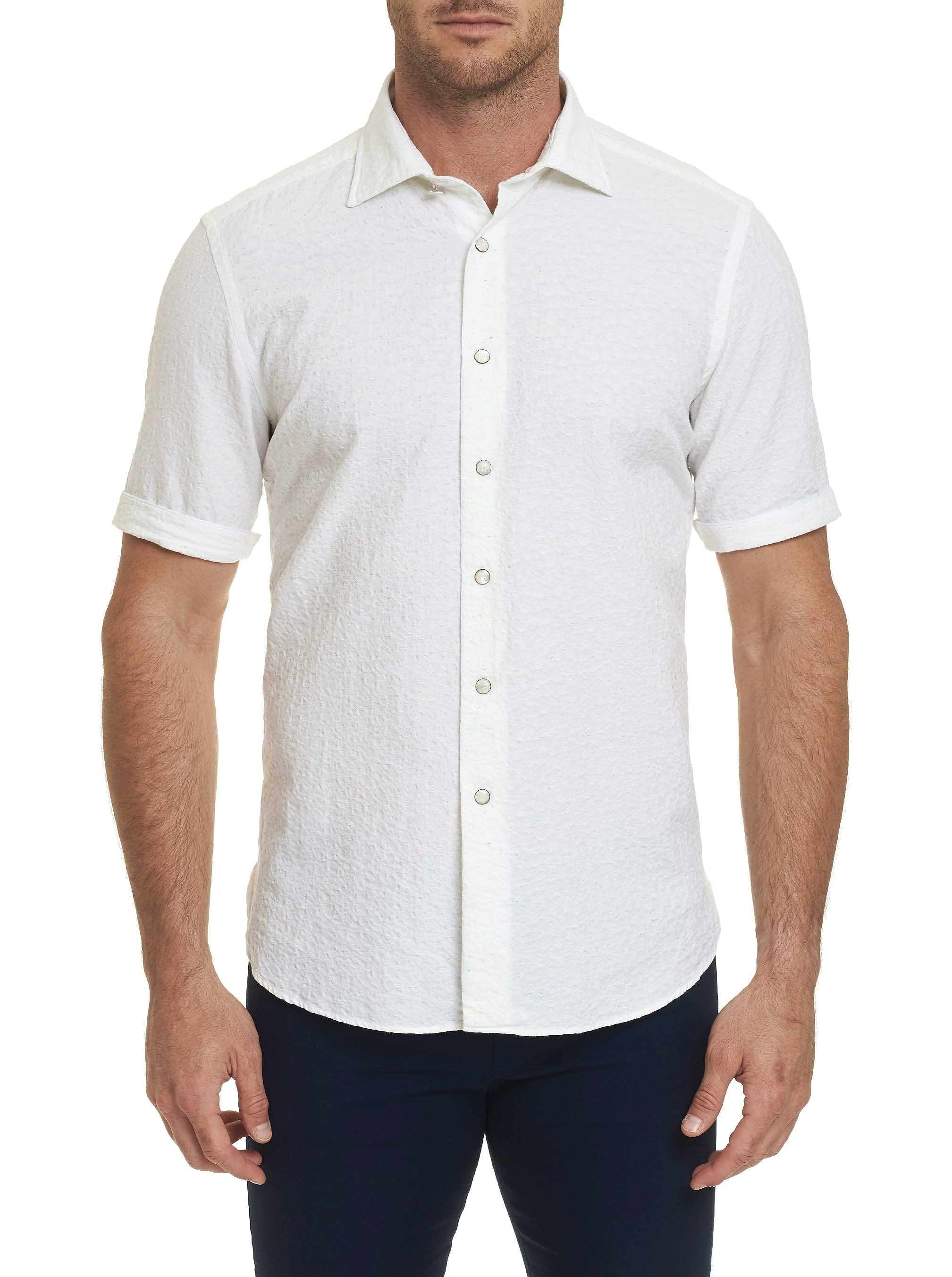 R COLLECTION ROMANO SHORT SLEEVE SHIRT
