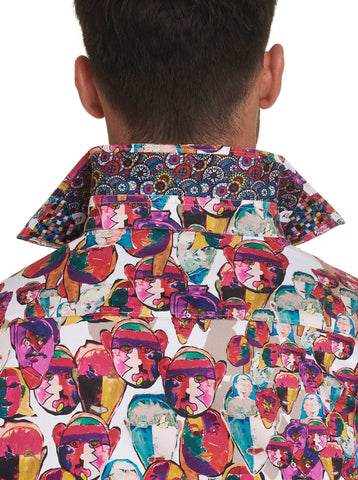 MANY FACES SPORT SHIRT