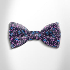 Bow tie in precious satin silk 417114-3