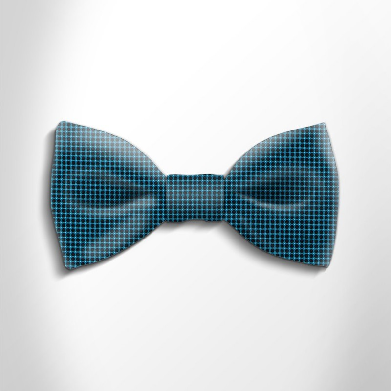 Bow tie in precious satin silk 417118-5