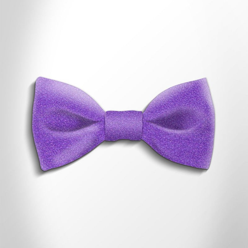 Bow tie in precious satin silk 417123-2