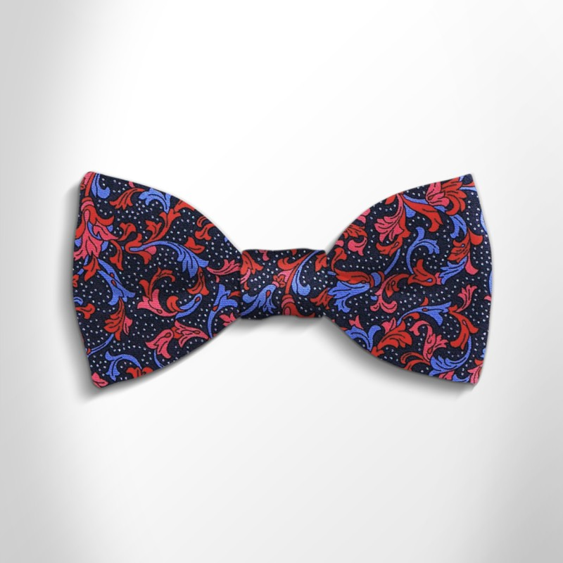 Bow tie in precious satin silk 417227-02