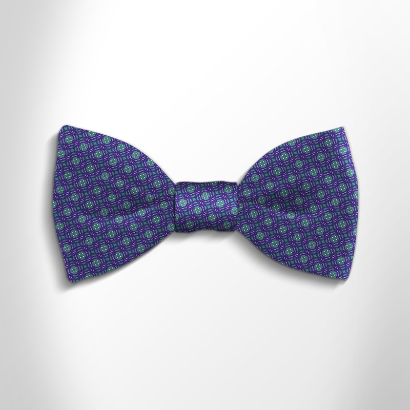 Bow tie in precious satin silk 417272-08