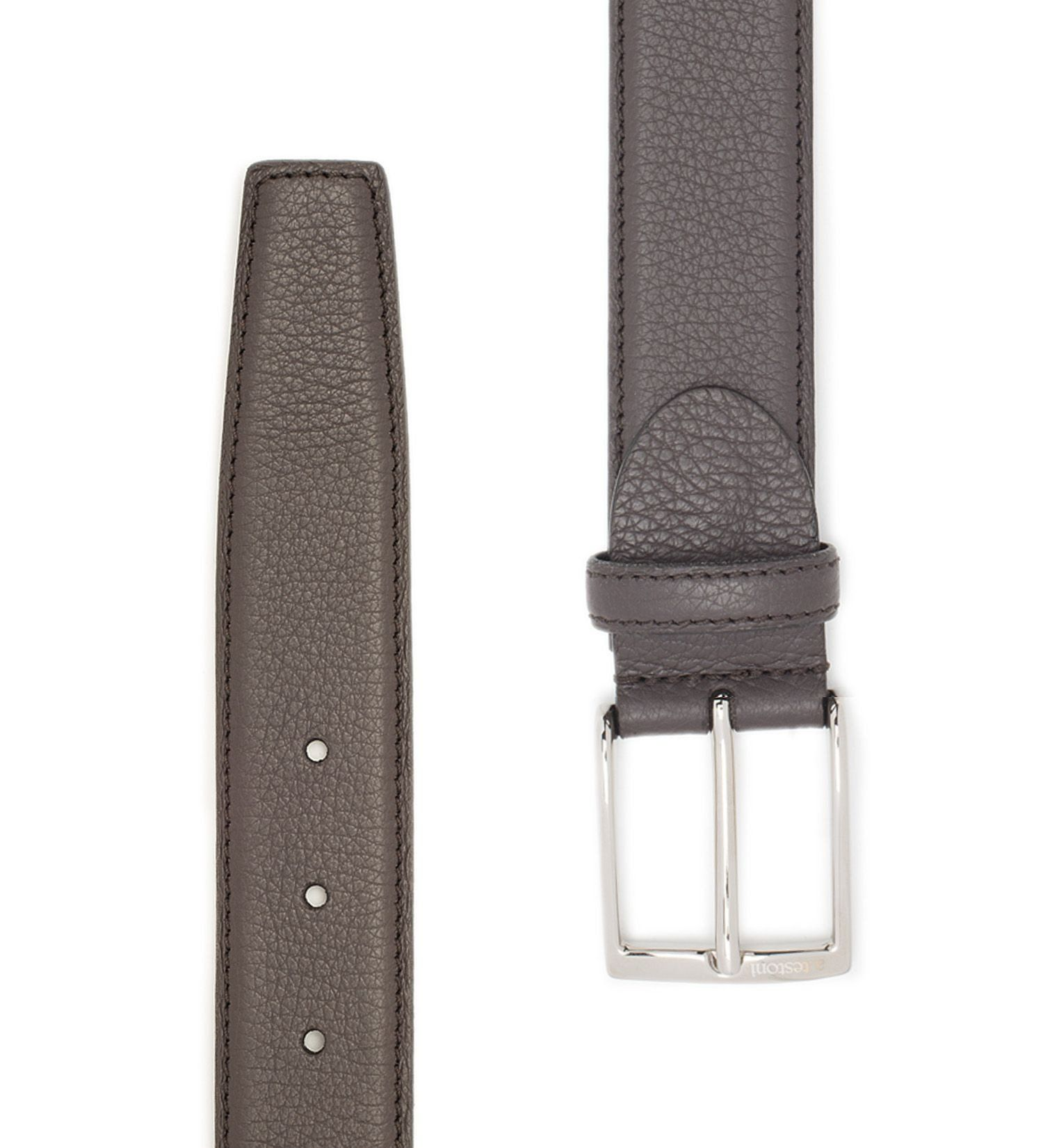 LEATHER BELT,BELT,A.TESTONI, | GentRow.com