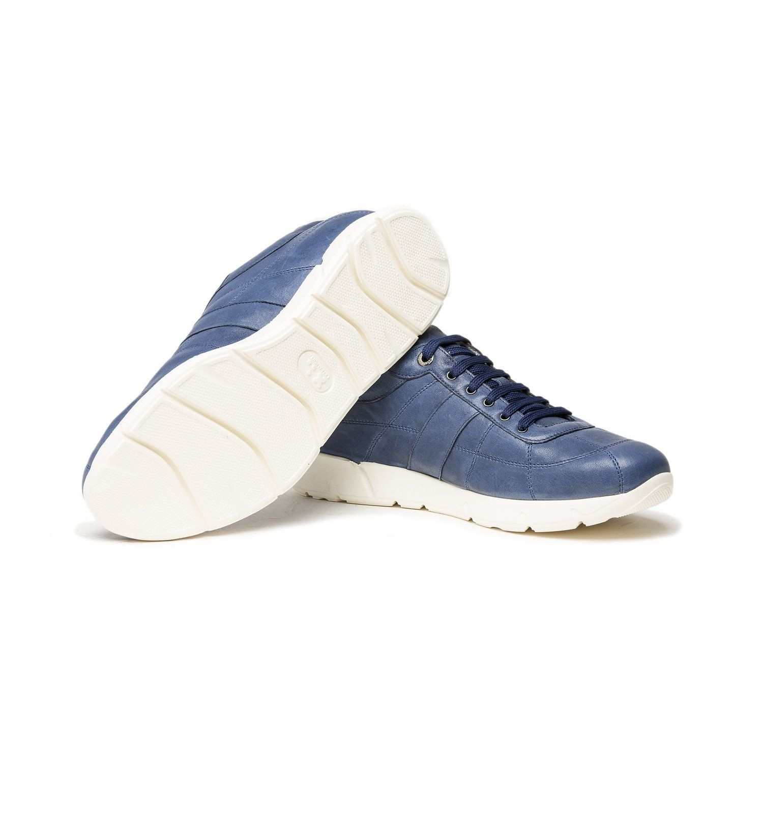 ULTRA LIGHTWEIGHT SNEAKER IN LEATHER,SHOES,A.TESTONI, | GentRow.com