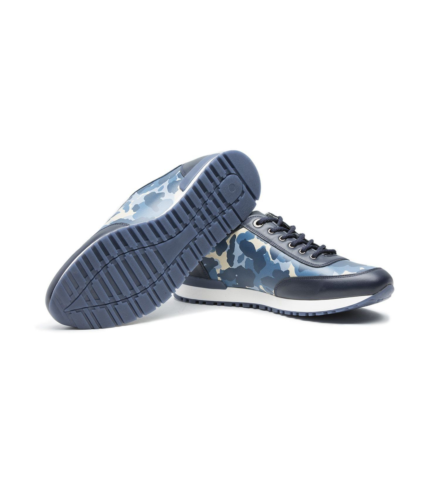 LEATHER SNEAKER,SHOES,A.TESTONI, | GentRow.com