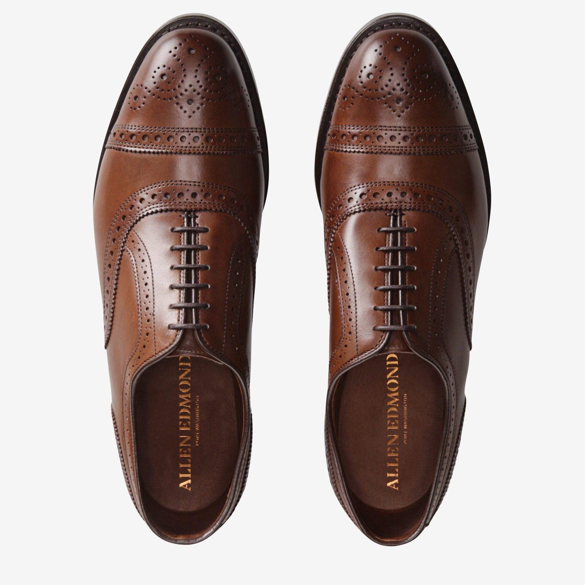Strand Cap-toe Oxford with Dainite Rubber Sole