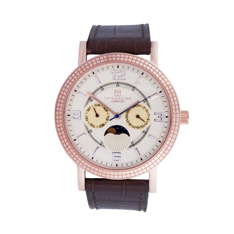 Eclipse in IP Rose Gold Plated Stainless Steel Watch,Watches,GentRow.com, | GentRow.com