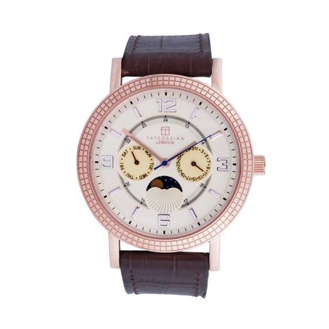 Eclipse in IP Rose Gold Plated Stainless Steel Watch
