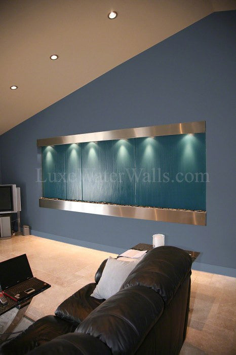 large indoor water wall