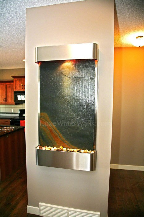 indoor wall water feature
