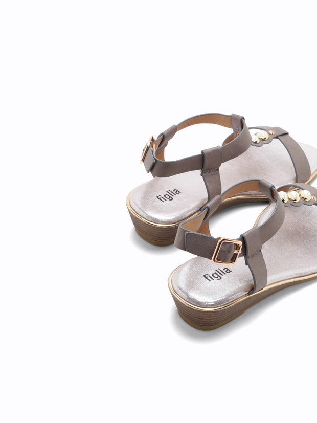 F-1817 Wedge Sandals