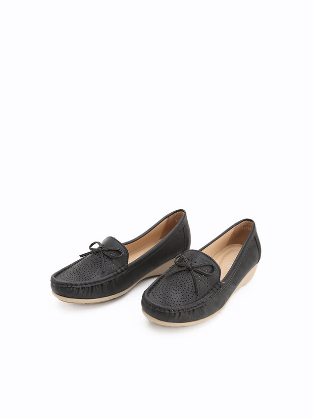R-1916 Wedge Loafers