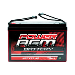 12 VOLT 12V 135AH AMP HOUR BATTERY AGM SLA DEEP CYCLE DUAL FRIDGE SOLAR | Buy Auto Tools Products Online With the Best Deals at Anbmart.com.au!