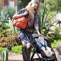 Oioi Tangarine Carryall Nappy Bag | Buy Nursery Products Online With the Best Deals at Anbmart.com.au!