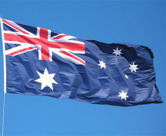 6.0m Flag Pole Full Set / Kit w Australian Flag - Garden Lights - ANB Mart