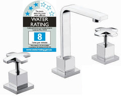 3pc Basin Tap Faucet Set - Bathroom Laundry Sink - Home Renovation & DIY - ANB Mart