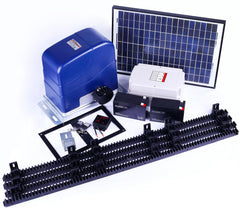 1000KG Auto Slide Sliding Gate Opener Automatic w Solar & 4m Rail | Buy Garage & Gates Products Online With the Best Deals at Anbmart.com.au!