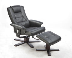 PU Leather Massage Chair Recliner Ottoman Lounge Remote | Buy Other Furniture Products Online With the Best Deals at Anbmart.com.au!