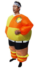 FOOTBALL Fancy Dress Inflatable Suit -Fan Operated Costume | Buy Gifts & Novelty Products Online With the Best Deals at Anbmart.com.au!