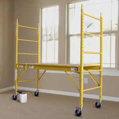 Safety Scaffolding Ladder - 450KG | Buy Industrial & Power Tools Products Online With the Best Deals at Anbmart.com.au!