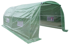 Garden Greenhouse Shed 5 x 3m - Artificial Grass & Greenhouses - ANB Mart