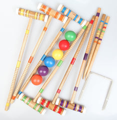 Croquet Set - Up to 6 Players | Buy Gifts & Novelty Products Online With the Best Deals at Anbmart.com.au!