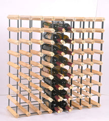 72 Bottle Timber Wine Rack - Complete Wooden Wine Storage System | Buy Gifts & Novelty Products Online With the Best Deals at Anbmart.com.au!