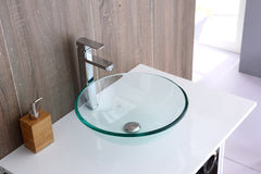 12mm Tempered Glass Above Countertop Basin for Vanity | Buy Home Renovation & DIY Products Online With the Best Deals at Anbmart.com.au!