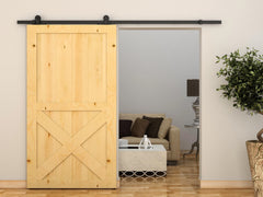 2.4m Sliding Barn Door Hardware | Buy Home Renovation & DIY Products Online With the Best Deals at Anbmart.com.au!