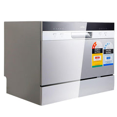 5 Star Chef Electric Benchtop Dishwasher Silver - Home Appliances - ANB Mart