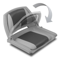 Set of 2 Swivel Folding Marine Boat Seats Grey Charcoal | Buy Boats & Kayaks Products Online With the Best Deals at Anbmart.com.au!