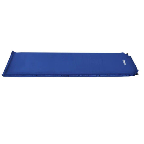 Self inflating Mattress Single 6cm Blue - Camping & Hiking - ANB Mart