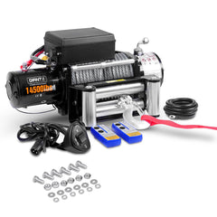 GIANTZ 12V 14500lbs Winch - Auto Winches - ANB Mart