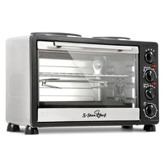 34L Benchtop Convection Oven with Twin Hot Plate | Buy Kitchen, Dining & Bar Products Online With the Best Deals at Anbmart.com.au!