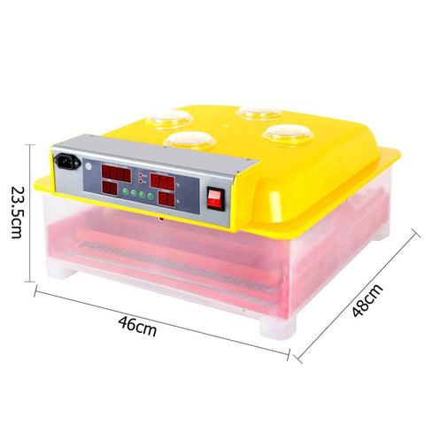 Automatic 60 Egg Incubator Yellow - Birds - ANB Mart