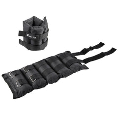 Set of 2 5 kg Wrist Ankle Weights Gym Training w/ Adjustable Pair Strap | Buy Fitness & Exercise Products Online With the Best Deals at Anbmart.com.au!