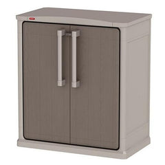 Keter Optima Mini Multipurpose Cabinet | Buy Garden Furniture Products Online With the Best Deals at Anbmart.com.au!