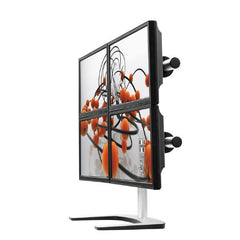 Visidec Freestanding Quad | Buy Display Mounting Systems Products Online With the Best Deals at Anbmart.com.au!