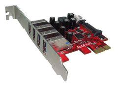 Shintaro PCIE USB3.0 x 4 Port Adapter - Motherboards - ANB Mart