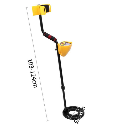 Deep Target Sensitive Searching Metal Detector w/ LED Readout - Other Outdoor & Sports - ANB Mart