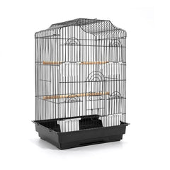 Pet Bird Cage Black Medium - 68CM - Birds - ANB Mart