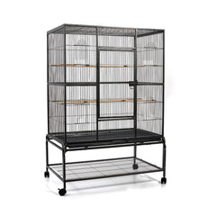 Pet Bird Cage Black Large - 140CM | Buy Birds Products Online With the Best Deals at Anbmart.com.au!
