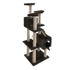 Cat Scratching Poles Post Furniture Tree 185cm Dark Grey | Buy Cats & Dogs Products Online With the Best Deals at Anbmart.com.au!
